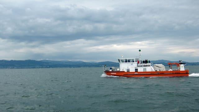 Boot auf Bodensee