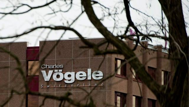 Il logo da Charles Vögele.