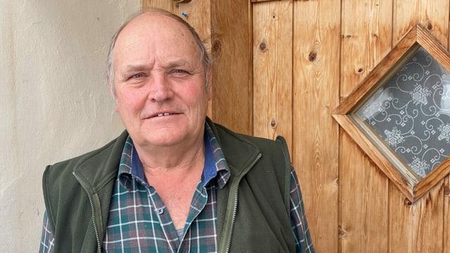 Mathé Camenisch il president da la Corporaziun Val Schons.