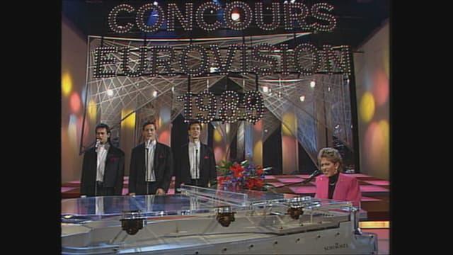 Ils Furbaz durant il Eurovision Song Contest 1989.