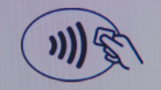 Logo kontaktloses Bezahlen.