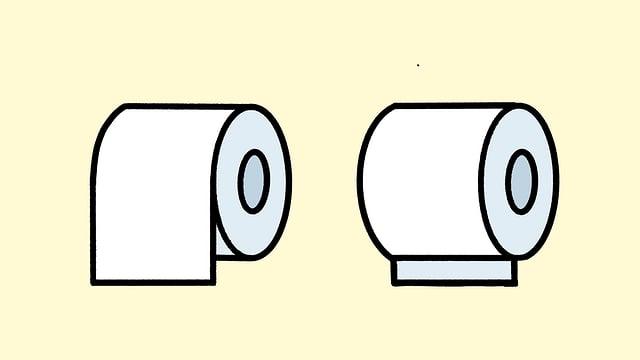 WC-Rollen.