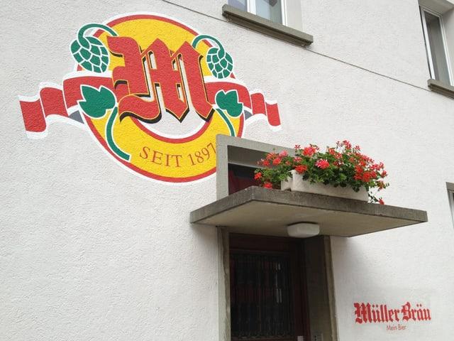 Eingang Müllberbäu Baden