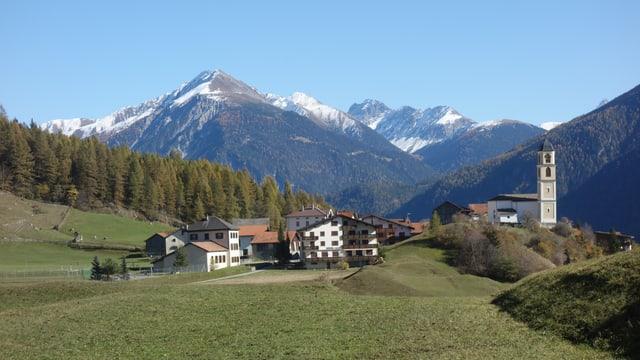 Il vitg da Brinzauls fa part a la vischnanca d'Albula/Alvra.