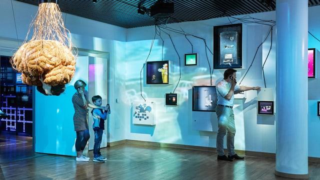 Raum des Museums