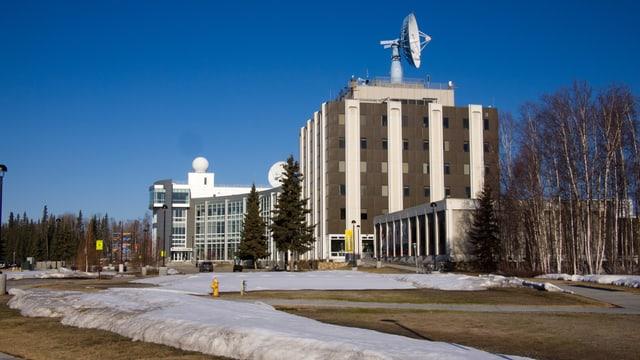 Gebäude des geophysikalischen Instituts in Fairbanks
