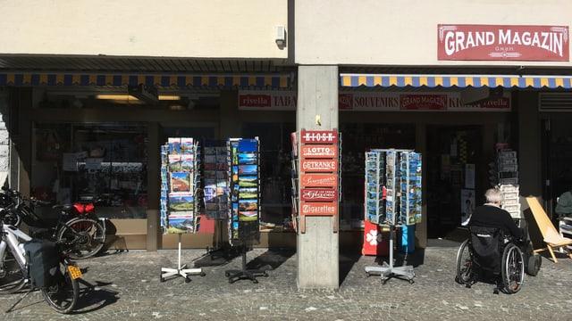 Kiosk von Housi Denz von aussen.
