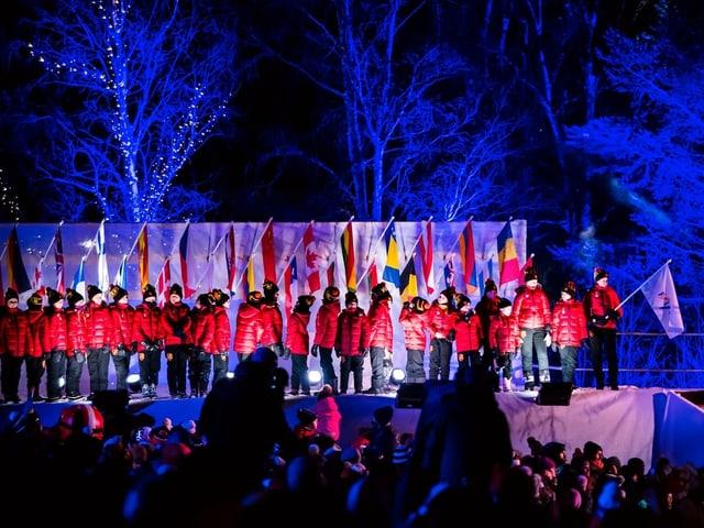 76 Nationen werden an der Ski-WM teilnehmen.