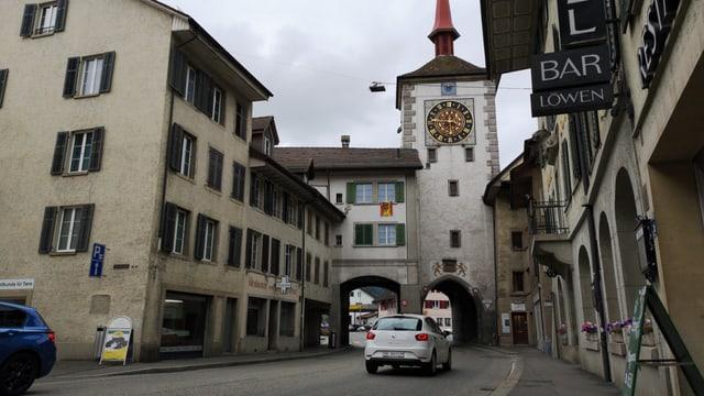 Altstadt mit Stadttor