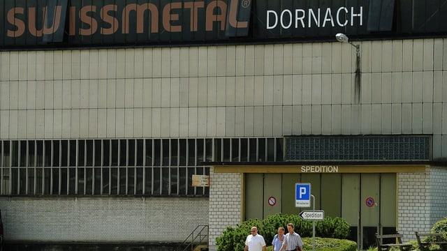 Fabrikgebäude der Swissmetal