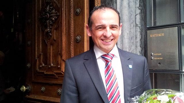 Der neue Kantonsratspräsident Bruno Walliser