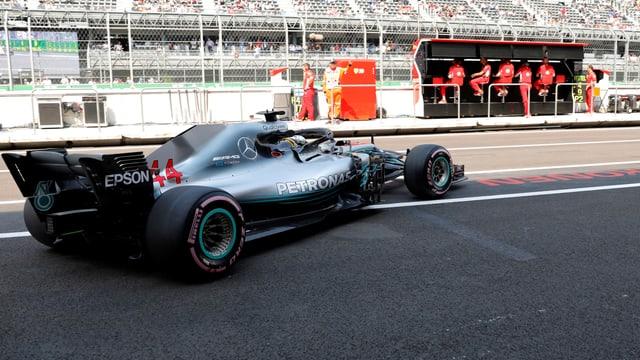 Lewis Hamilton in den Trainings zum GP Mexiko.