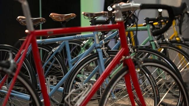 Die Diebe stahlen gezielt hochwertige Rennvelos und Mountainbikes.