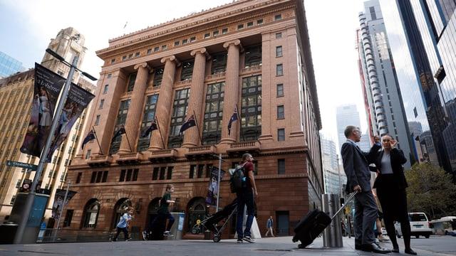 Hauptsitz der Commonwealth Bank of Australia