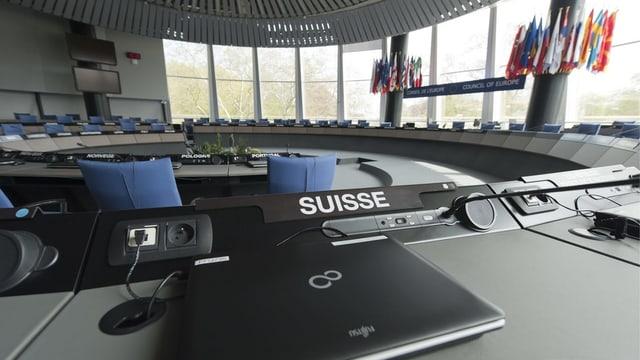 Auch die Schweiz ist Europaratsmitglied
