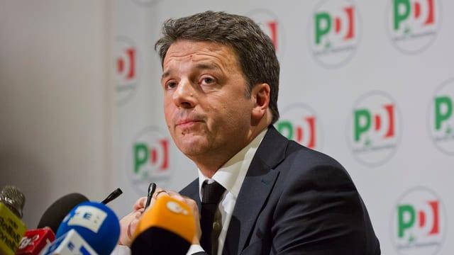 Purtret da Matteo Renzi.