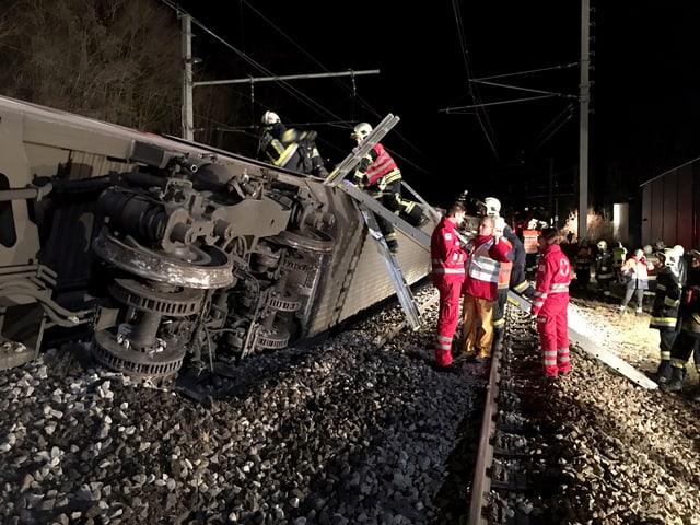 Die Unfallstelle in Niederösterreich