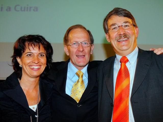 Doris Leuthard, Joseph Deiss, Urs Schwaller