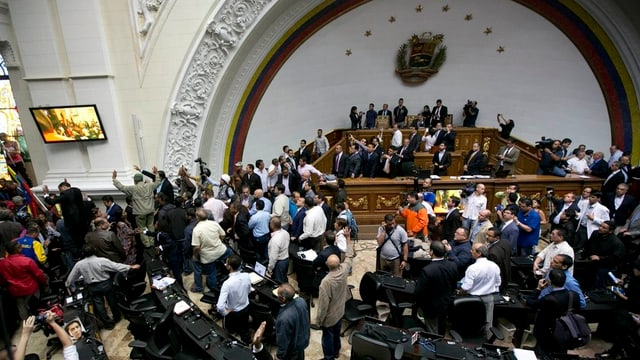 Purtret dal parlament en Venezuela.