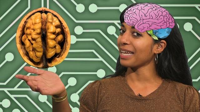 Video «Wie funktioniert unser Gehirn? | Clip und klar! - Dein Erklärvideo» abspielen