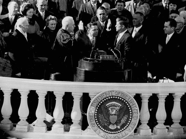 Inauguration von John F. Kennedy