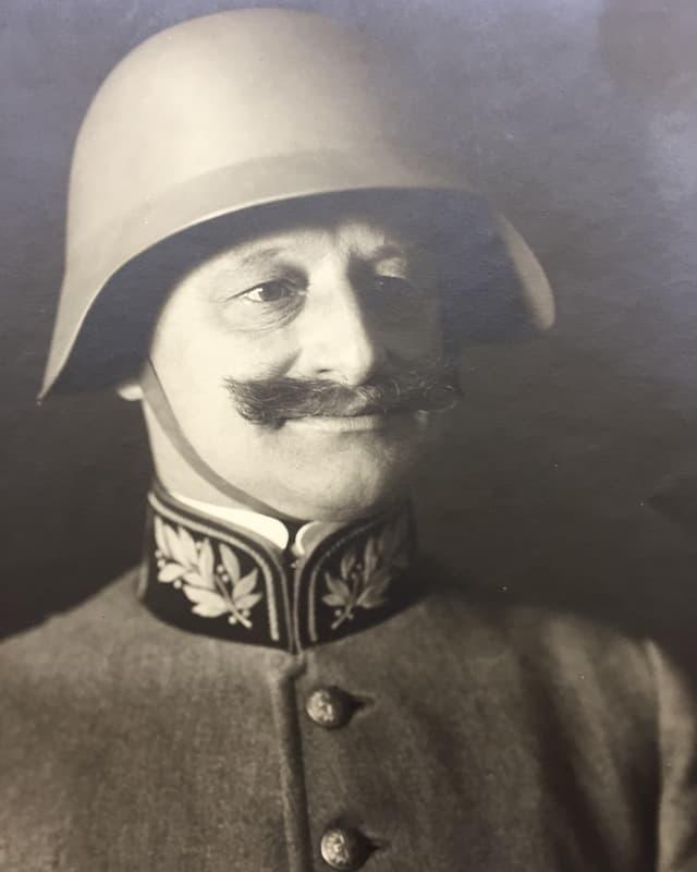 Portrait Emil Sonderegger.