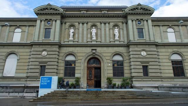 Das Kunstmuseum Bern ist im Bild.