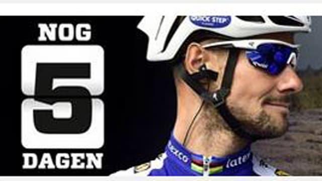 Countdown auf der belgischen Online-Plattform von Het Nieuwsblad.