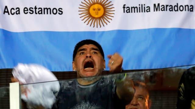 Edel-Fan Diego Armando Maradona.
