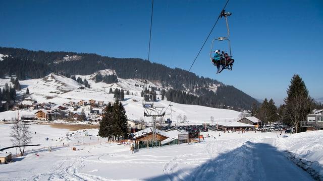 Skigebiet Schwarzsee