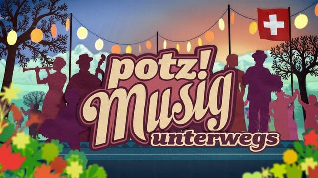 Video ««Potzmusig unterwegs» am Volksmusikfestival Altdorf» abspielen