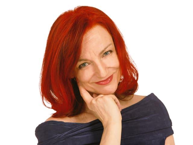Porträt von Eliane Schweitzer.