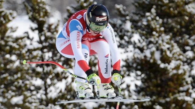 La skiunza Lara Gut fa in segl