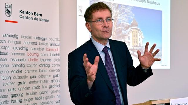 Regierungspräsident Christoph Neuhaus