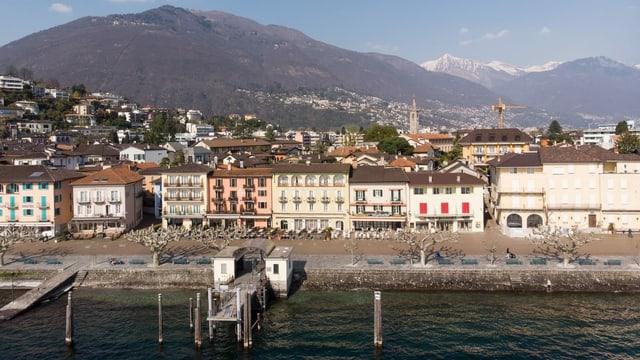 Stadt Ascona.