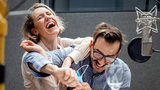 Annika Meier und Fabian Krüger