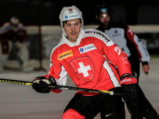 U20-Nationalspieler David Aebischer.
