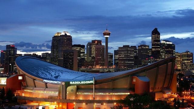 Skyline da Calgary.