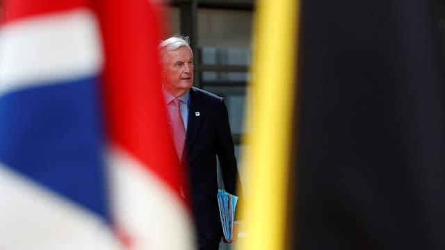Michael Barnier, il schefnegoziader per il Brexit.