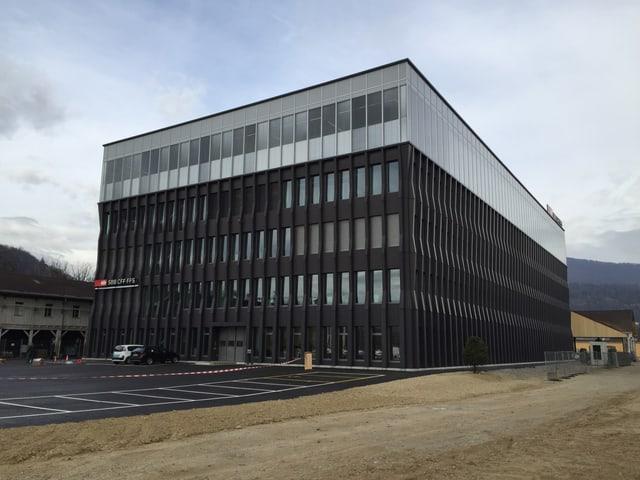 Das neue Gebäude