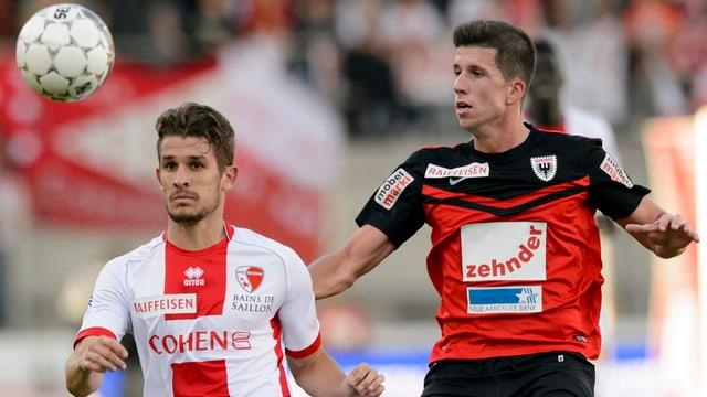 Sandro Wieser im Einsatz gegen den FC Sion.