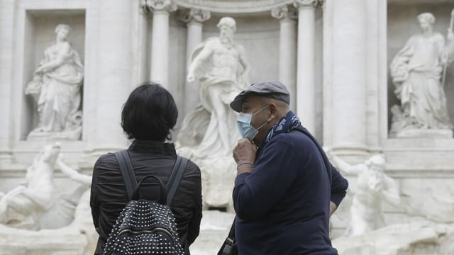 Sightseeing in Italien