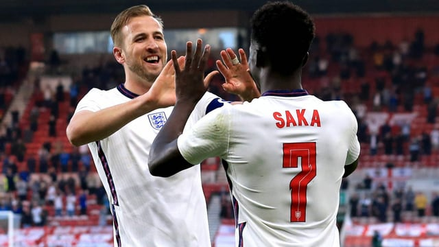 Englands junge Löwen wollen endlich zubeissen