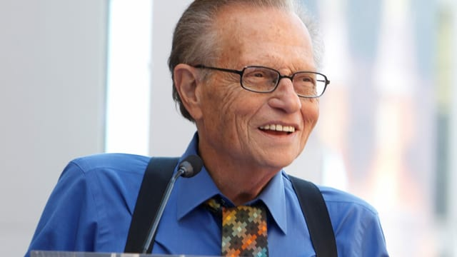 US-Talkmaster Larry King ist tot