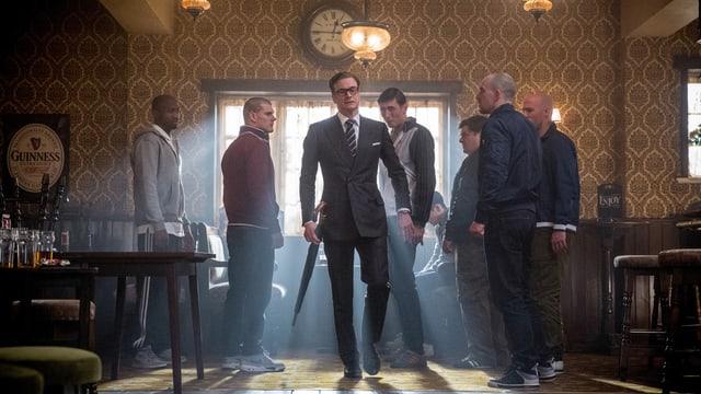 Bild aus dem Spielfilm «Kingsman: The Secret Service»
