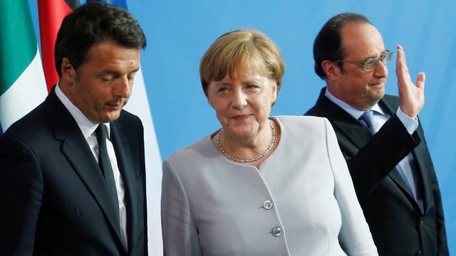 Politichers europeics.