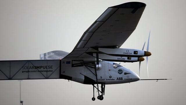 L'eroplan solar «Solar Impulse 2» vi dal sgular.