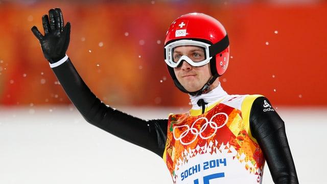 Simon Ammann stellte sich seinen Abgang von der olympischen Bühne anders vor.