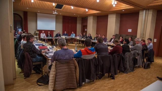 Il parlament da Glion ha acceptà las midadas vid il preventiv proponidas da la suprastanza communala.