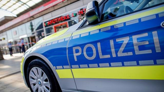 Polizeiauto in Köln.